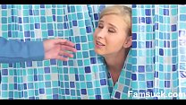 Milf Sucks Off Step-Son In Shower Famsuck.com Thumbnail