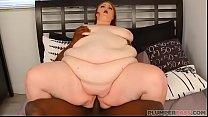 SSBBW Julie Ginger Loves Jax Slayhers Huge BBC
