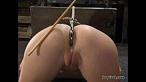 Hogtied - Sarah Blake tied up and made cum over and over again