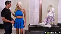 Nicolette Shea go crazy over a giant dick Thumbnail
