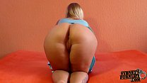 Custom Video – Legs Together Bent Over Doggystyle!