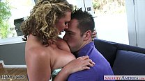 Hot wife Brooke Wylde gets big tits sucked Thumbnail