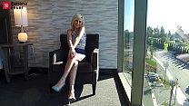 Cute Tiny Blonde Kiara Cole With BananaFever In Need Of Asian Banana Treatment