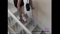 Fetisch-Concept.com - On stairs and outdoor wit...