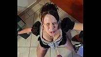 Download video bokep French maid gets piss in her face and cleans it 3gp terbaru
