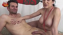 Italian MILF brunette with Luna Dark and Alabor - download porn videos