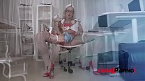Submissive Nurse Licky Lex Ass Fucked Balls Deep By Dominant Doctor GP062