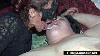Double anal Penetration! DAP for nasty milf in ...