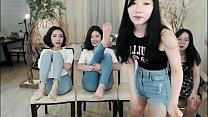 Korean girls get bastinado Thumbnail