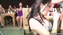 Horny women show off their dick sucking skills