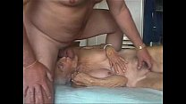 Facial on very old granny. Amateur older