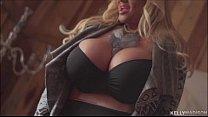 Kelly Madisons World Class Tits Shake While She...