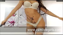 white lingerie like an angel but naughty and ve...