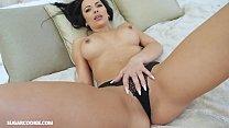 Amateur Sexy busty MILF Shalina Devine has sex ...