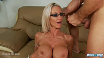 MILF Emma Starr fucked and facialized Thumbnail