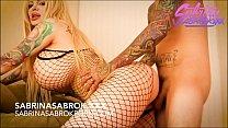 Sabrina Sabrok big tits blonde with huge booty ...