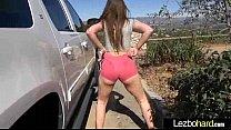 (Dani Daniels & Abigail Mac) Teen Lesbo Girls I...