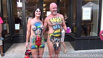 hot milf exhibitionists on the streets of key west Thumbnail