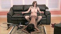 Interracial Lesbian S&M Continues at Home Thumbnail