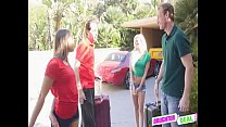 Fathers Deal Vacation Weekend - Elsa Dream And Liza Rowe
