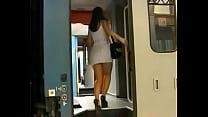 Girlfriend masturbates for you on a train - Part 1