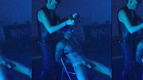 Hot gay slave and Master live show leather