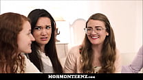 Four Mormon Teen Sister Wives Orgasm Together A...