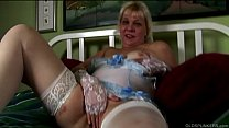 Download video bokep Saucy old spunker in sexy lingerie talks dirty ... 3gp terbaru