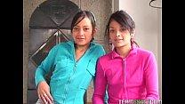 Two lovely latinas get fucked hard Thumbnail