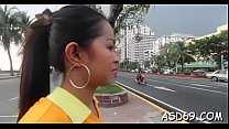 Oriental blowjob and jock ride Thumbnail