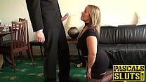 Hot blonde Ashley Rider gets her tight cunt des...