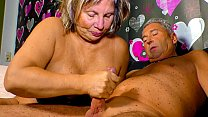 XXX OMAS - Horny German granny needs a hard cock up her mature pussy Thumbnail