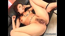 Hairy pussy Asian nailed super hard