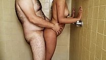hot niece takes a shower with her uncle at the ...