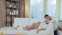 ORGASMS Young girl enjoys foreplay before passi... Thumbnail