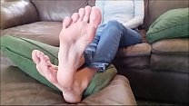 Sexy Long Toes and Soles Part 1- www.prettyfeet...