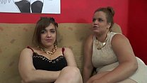 Severe gangbang for two French bbw