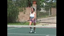 Angelica Sin   tennis tits