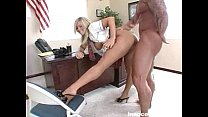busty blonde student gets a good fucking from h... Thumbnail