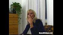 Blonde Mature Bombshell Suck And Fucks My Cock