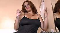 Latina BBW milf Sandra takes matters into her o...