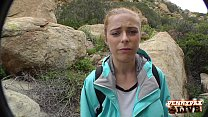 Amazing Hiking POV Threesome with Penny Pax and...