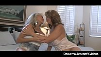 Busty Wife Deauxma Watches Hubby Anal Fuck Sall...