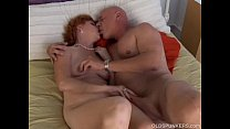 Super sexy mature redhead is a squirter