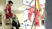 Subtitled Japanese kimono pee desperation failu...