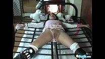 Asian slave Bibi tiedup for sexy photoshoot Thumbnail