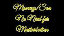 MommySon No Need for Masturbation