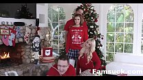 Step-Sis fucked me during family cristmas picture| FamSuck.com Thumbnail