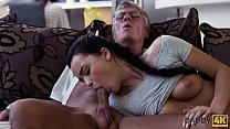 DADDY4K. Old and young lovers have spontaneous ...
