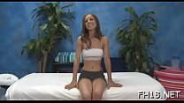 Sexy chick plays with shlong then gets nailed hard Thumbnail